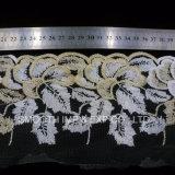 Высокое качество одежда аксессуары Net пряжа вышивка кружевной ткани из текстиля