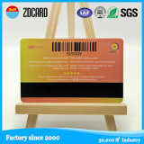 カスタムHicoおよび気違いの磁気帯プラスチックPVCカードの印刷