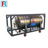 低温学シリンダー、液体窒素の容器