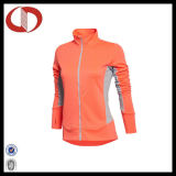 O logotipo personalizado última corrida de desportos de compressão Jacket para Mulheres