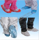 Cubierta antideslizante del zapato, cubierta no tejida del zapato, cubierta del zapato de los PP