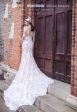 طويلة كم شريط [مرميد] زفافيّ عرس ثوب