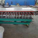 Máquina da produção para a fibra de vidro composta que raspa com tampa