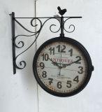 Decoración antigua del reloj de pared del metal de la vendimia del regalo 2017 promocionales
