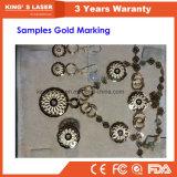 Золото гравировка машины портативный волокна engraver лазера 30W 50Вт 100W