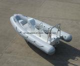 Bote patrulla del rescate de la costilla de Aqualand 16feet los 4.8m/barco de motor inflable rígido (RIB480T)