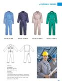 反射安全長い袖全面的な均一作業摩耗