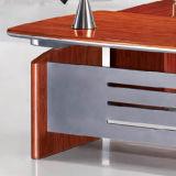 Mesa de madeira por atacado do executivo do escritório de projeto da mesa de escritório do OEM boa