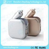 Двойной заряжатель автомобиля USB Port с переходникой заряжателя стены (ZYF9112)