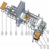 Chaîne de production stratifiée par mélamine courte automatique de cycle pour HDF