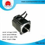 motor de la C.C. Motor310V 470W 3000rpm 1.5nm BLDC del motor eléctrico del motor de la C.C. 70bl3a120