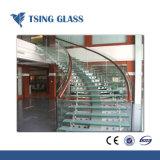 3-19мм плоской кривой и ламинированные из закаленного стекла для поручня/душ двери и мебель