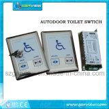 Toilet/de Schakelaar van het Glas van de Deur van de Ingang van het Toilet voor Automatische Schuifdeuren