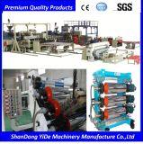 PVC 환경과 몰취미한 물자 발 매트 단 하나 나사 플라스틱 밀어남 기계