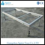 Etapa plegable móvil de aluminio/etapa plegable de alquiler/plataforma plegable de la etapa