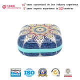 Hight Qualidade Export Square Mini Cookie Tin Box (S001-V16)