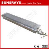 Bruciatore infrarosso per l'essiccamento del rivestimento della polvere