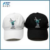 O bordado da animação tampa o boné de beisebol do algodão de Casquette dos chapéus de Bugs Bunny do chapéu do paizinho