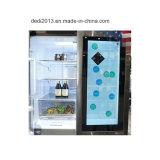 3G 4G WiFi 32 Zoll kleiner transparenter LCD-Bildschirmanzeige-Kühlraum