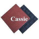 Резиновый напольный плиткой и Установите противоскользящие резиновые плитки пола, резиновый напольный плитки