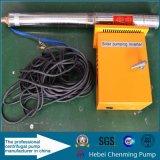 Pompe à eau actionnée solaire de pompe solaire d'étang de prix bas de qualité
