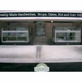 De aangepaste Aanhangwagen van de Kiosk van het Voedsel van Churros van de Aanhangwagen van het Voedsel van China Mobile van het Embleem voor Verkoop