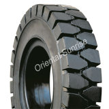 Industrieller Kissen-Halo-Klipp-fester Reifen für Gabelstapler 18X7-9 (18*7-9)
