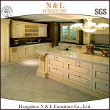 N & l 2016 новый кухонный шкаф кухни твердой древесины конструкции