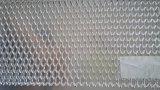 技術ふるいによって平らにされる拡大された金属のアルミニウム網の部分