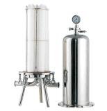 Cartucho de filtro de carbono ativado para remoção de cor para água engarrafada