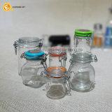 透過ガラスはスペース乾燥したフルーツの記憶の瓶を保存する