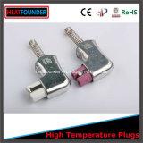 220V-600V 분홍색 세라믹 헤드 (T729)를 가진 90 도 각 세라믹 플러그