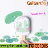 New Gadget Popsicle Portable Power Bank com RoHS