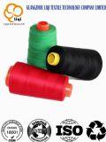 40s/2 venden al por mayor la cuerda de rosca hecha girar el 100% de la materia textil de la tela del hilo de coser del poliester