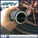 Spirale à quatre fils haute pression hydraulique du flexible en caoutchouc 4sh