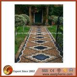 ホームまたはGaredenの壁または床タイルのための自然な石造りの白またはGeryまたはベージュまたは黄色モザイク材料