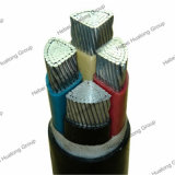 ISO Psb Ce аттестует 3 проводника силовой кабель XLPE сердечника 25mm2 алюминиевого изолированный и PVC обшитый подземный