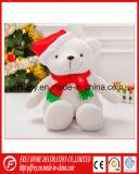 De hete Zachte Teddybeer van de Pluche van de Verkoop voor de Vakantie van Kerstmis