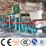 papel higiénico de papel de reciclaje del tejido del rodillo enorme de 1880m m que hace la máquina