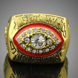 Горячее кольцо 1982 спортов краснокожих Вашингтон с SGS