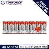 1.5V Digital alkalische Batterie-trockene Batterie mit BSCI (LP03-AAA 6PCS)