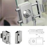 Cerradura de puerta de vidrio doble abierto la puerta de cristal parche bloqueo apenas XE117