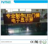 P6mm Estación de Autobuses de gran calidad Solar Display LED de publicidad