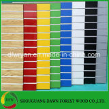 Mélamine MDF conseil/Slatwall fente d'affichage pour rack