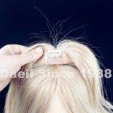 Goccia che spedice la chiusura dei capelli umani