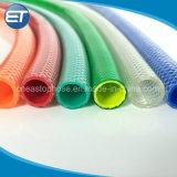 La torsión no tejida de fibra reforzado con fibra de PVC transparente flexible