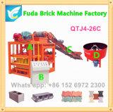 Semi автоматический конкретный полый блок делая машину
