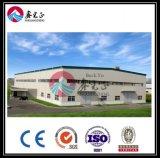 Estructura de acero de la luz de almacén o edificio/Taller (BYSS019)