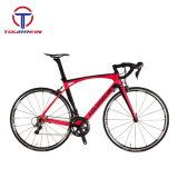 大人の可変的な速度の高いディスクブレーキカーボンフレームのVeloの道のバイクの自転車