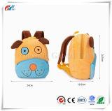幼児の子供のランドセルの赤ん坊の動物園の男の子および女の子の子供のための美しいOuppyのプラシ天犬の動物の漫画の小型バックパック